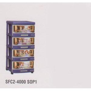 Lemari Plastik Napolly SFC2-4000 S0P1