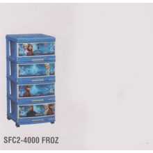 Lemari Plastik Napolly SFC2-4000 FROZ