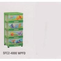 Lemari Plastik Napolly SFC2-4000 WPFD 1
