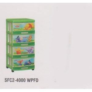Lemari Plastik Napolly SFC2-4000 WPFD