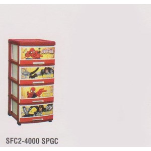 Lemari Plastik Napolly SFC2-4000 SPGC