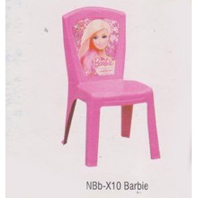 Kursi Plastik Napolly NBb-X10 Barbie