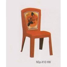 Kursi Plastik Napolly NSp-x10 HW