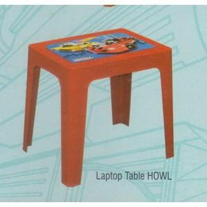 Meja Plastik Napolly Laptop Table HOWL