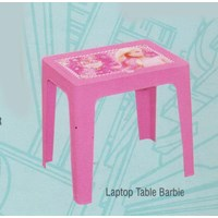 Jual Meja Plastik Napolly Laptop Table BARBIE