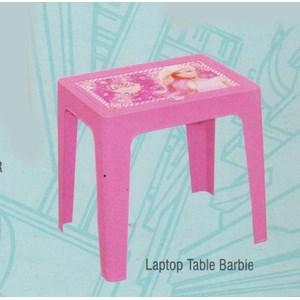 Meja Plastik Napolly Laptop Table BARBIE