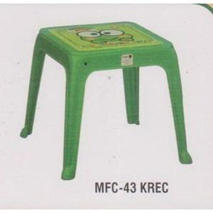 Meja Plastik Napolly MFC-43 KREC