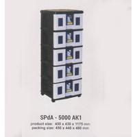 Lemari Plastik Napolly SPdA-5000 AK1 1