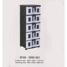 Lemari Plastik Napolly SPdA-5000 AK1
