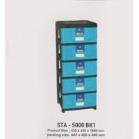 Lemari Plastik Napolly STA-5000 BK1 1