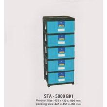 Lemari Plastik Napolly STA-5000 BK1
