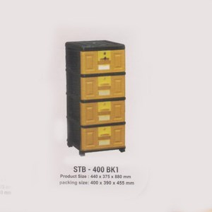 Lemari Plastik Napolly STB-400 BK1