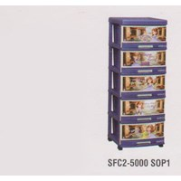 Lemari Plastik Napolly SFC2-5000 SPO1 1