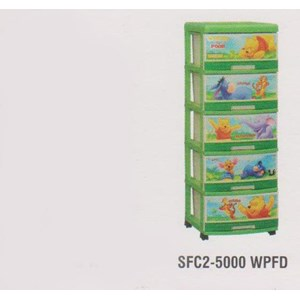 Lemari Plastik Napolly SFC2-5000 WPFD