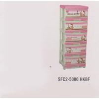 Lemari Plastik Napolly SFC2-5000 HKBF 1