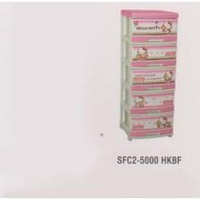 Lemari Plastik Napolly SFC2-5000 HKBF
