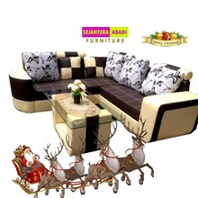 sofa coklat