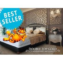 tempat tidur double top gold