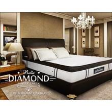 perabotan tempat tidur diamond single latex