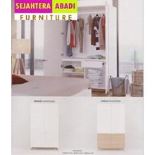 perabotan lemari putih