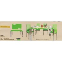 perabotan meja makan vittorio kenya