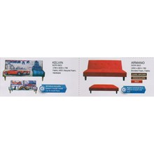 perabotan sofa vittoria karakter dan warna merah