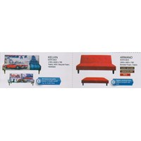 perabotan sofa vittoria merah hitam
