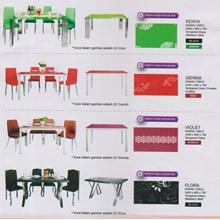 perabotan ruang makan vittoria warnaq