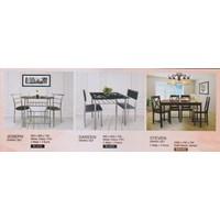 perabotan ruang makan vittoria hitam
