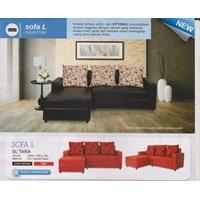 perabotan sofa merah hitam