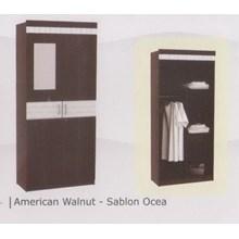 lemari pakaian 2 pintu 3 susun