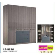 lemari pakaian LP 491 SW
