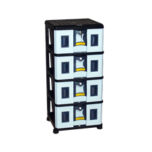 lemari plastik pakaian napolly Stockcase SPDA-4000 AK1