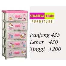 lemari plastik pakaian napolly SCA1 - 5000 KTHR (SCA1 - 5000 KTHR)