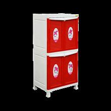 lemari plastik pakaian napolly BCBC-242 MMRO (BCBC-242 MMRO)
