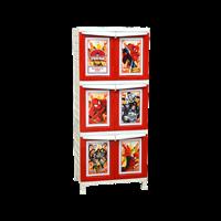 lemari plastik pakaian napolly BCBC-163 SPGC (BCBC-163 SPGC)