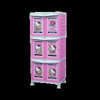 lemari plastik pakaian napolly BCBC-163 HKBF (BCBC-163 HKBF)