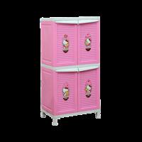 lemari plastik pakaian napolly BCBC-242 HKBF (BCBC-242 HKBF)