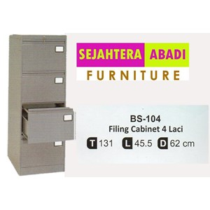 locker besi bother bs-104
