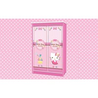 lemari pakaian hello kitty apanel WD HK 1901  SH 1