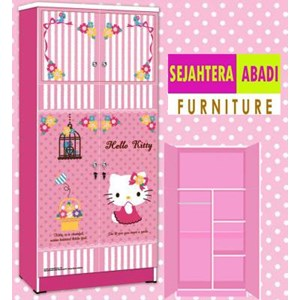 lemari pakaian hello kitty apanel WD HK1802-SH