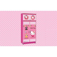 lemari pakaian hello kitty apanel WD  HK 1801 SH 1