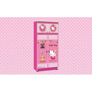 lemari pakaian hello kitty apanel WD  HK 1801 SH