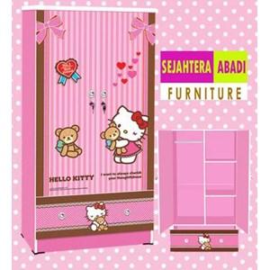 lemari pakaian hello kitty apanel WD-HK1601-BF