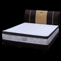 tempat tidur bigland Bed Set Single Pillow Top 1
