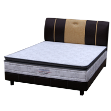 tempat tidur bigland Bed Set Single Pillow Top