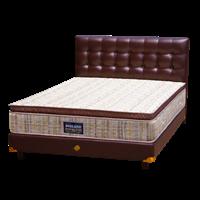 tempat tidur bigland Yunani Salur Pilow Top 1