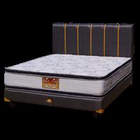 tempat tidur bigland silver double plus top 1