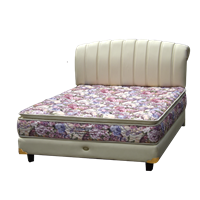 tempat tidur bigland King Pocket Pillow Top Florist 1