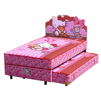 tempat tidur bigland Hello Kitty Best Friend Twin Bed  1